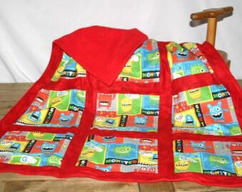 Monster Baby Blanket