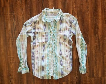 Country Chic Button Up Shirt
