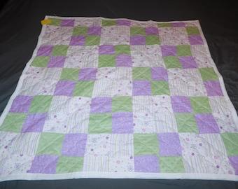 Reversible Baby Blanket / Hand made