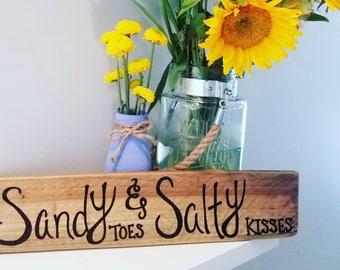 Sandy toes & salty kisses