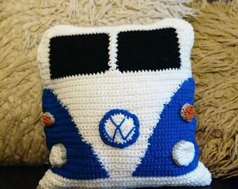 Handmade VW camper van cushions