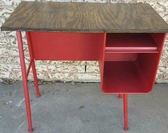 Restored Vintage Childrens School Desk