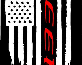 Flag Jeep Decal Etsy