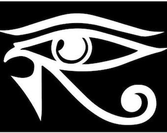Eye of Horus Egyptian protection sticker decal ra sun god