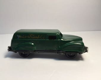 Vintage Metal Toy Delivery Truck