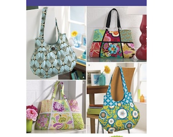 Simplicity Pattern 2396 Signature Style Bags, Purse