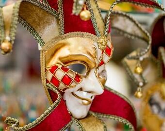 Venetian Mask, Masquerade, Venice Photography, Italy Photography, Fine Art Print Italy, Venice Print, Venice Print, Venice Wall Art