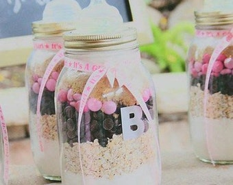 Cookies In A Jar Baby Shower Gift or Favors