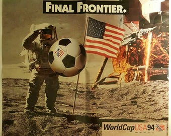1994 FIFA World Cup Soccer Poster