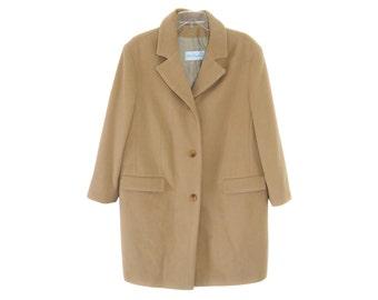 Vintage Ulla Popken ® women coat beige light brown
