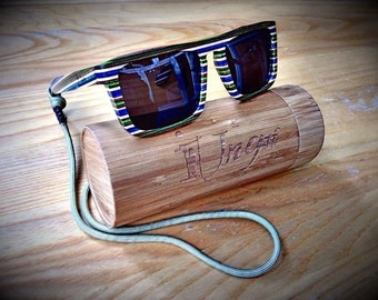 Polarized Skateboard Wood Sunglasses
