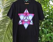 Merkaba Prism Sacred Geometry Shirt