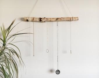 Birch Wood Necklace Hanger