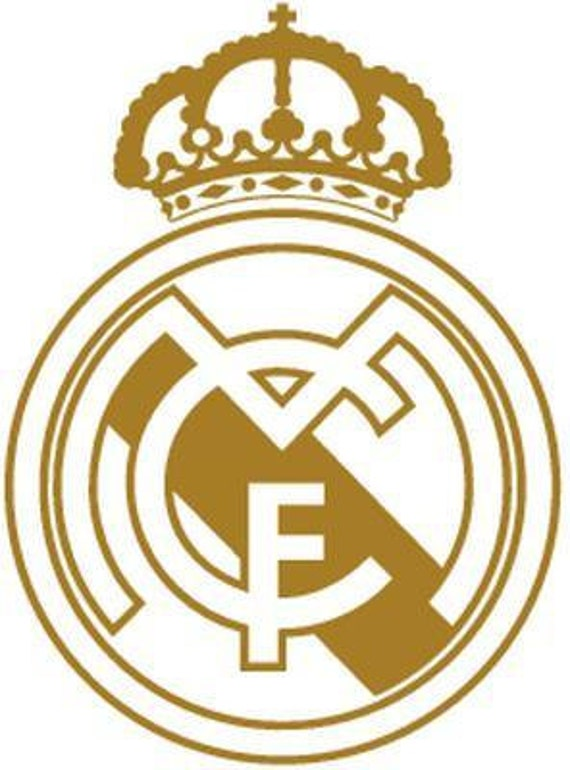 Vinyl Decal Sticker - Real Madrid Decal for Windows, Cars, Laptops, Macbook, Yeti, Coolers, Mugs etc