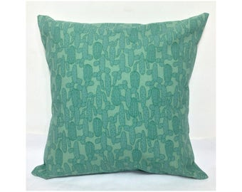 "Decorative pillow, ""CACTUS"", internal pillow + pillowcase, decorative pillow + cover"