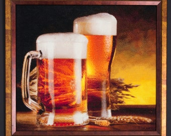 Beer cross stitch  Etsy