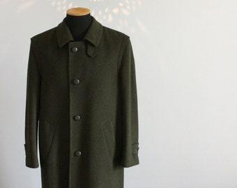 Original men's 80s vintage Tiroler Loden coat