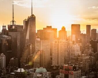 The New Yorker Sunrise