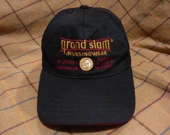 Vintage Munsingwear Hat Cap Vintage Grand Slam Munsingwear