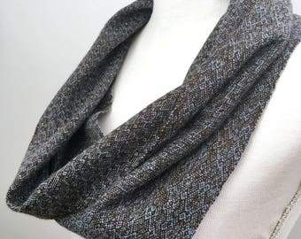Handwoven scarf, Woven scarf, Cashmere infinity scarf,  Cashmere cowl, Cashmere scarf, Cowl neck scarf, Womens scarves,  Unique scarves