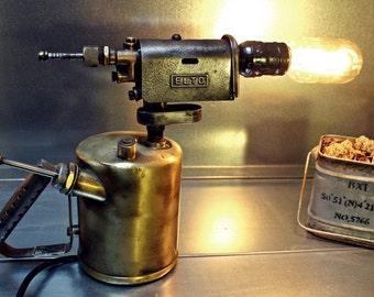 VINTAGE LAMP ELTO fire 1938