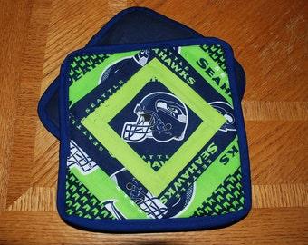Seahawks pot holders