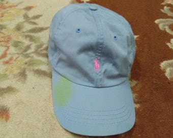 vintage POLO RALPH LAUREN cap small pony embroidered one size fits all