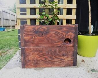 Rustic outdoor planters