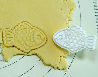 Crusian Carp (붕어빵) Cookie Cutter and Stamp