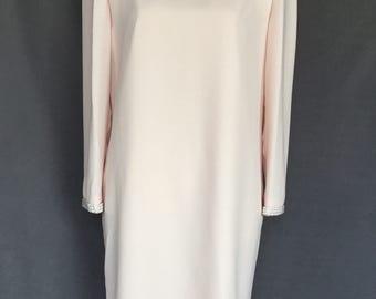 1980s Lisa Michael Pearl Formal Dress 14