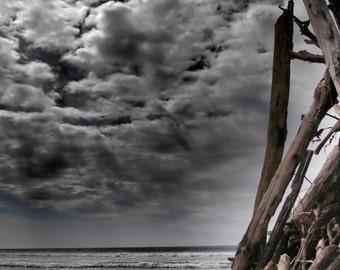 TeePee Sky, color photography