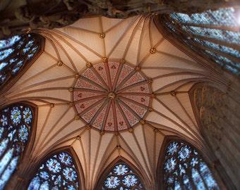 York Minster Ceiling Yorkshire England
