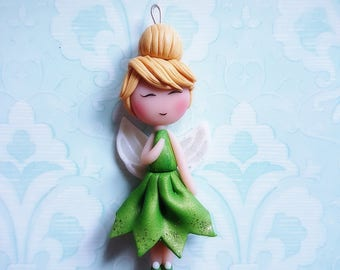 Collection fairy: Tinkerbell disney doll necklace