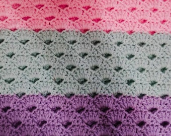 Shell Lace Baby/child blanket