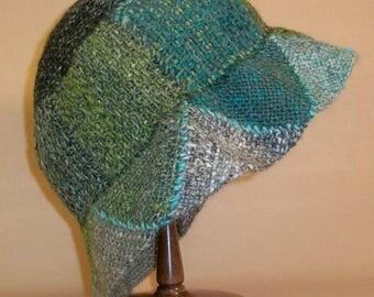 Pin Loom Weaving Bell Style Hat Pattern