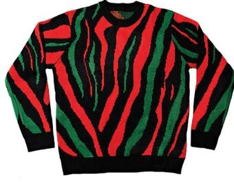 A Tribe Called Quest ATCQ knitted sweater