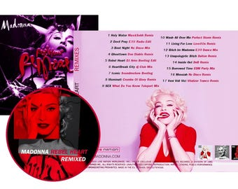 Rebel Heart Remixed CD - Madonna