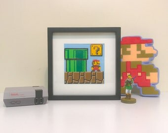 Super Mario Bros scene art