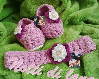 baby booties 3/6 months with