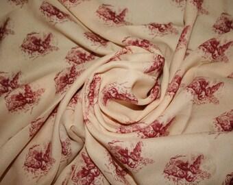 Vintage Crepe Fabric