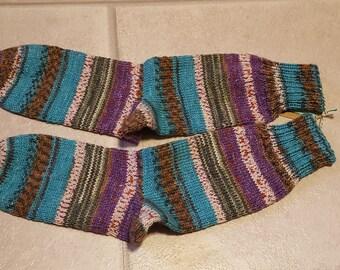 Children's socks, socks, socks, self-knitted, size 36/37