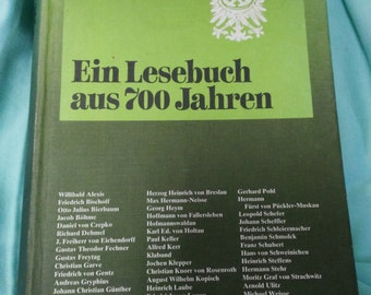 book a reading book from 700 years of Wolfgang von Eichborn 1979 book livre libro Scheliens legacy