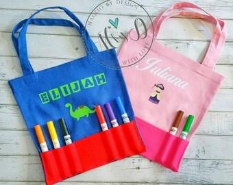 Marker/ Crayon Bag