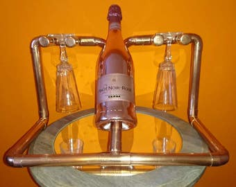 His 'n' Hers Champagne & Flute Holder