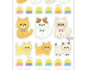 Nya Osanpo Sticker Sheet
