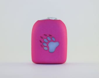 Clip-On Omnipod Pod Cover - Animal Paw