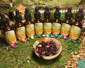 Essential Oil Blends According to CHAKRA 8 DIFFERENT BLENDS (1 oz)