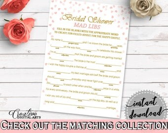 Mad Libs Bridal Shower Mad Libs Pink And Gold Bridal Shower Mad Libs Bridal Shower Pink And Gold Mad Libs Pink Gold - XZCNH