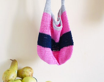 Crochet Cotton Shopper Bag