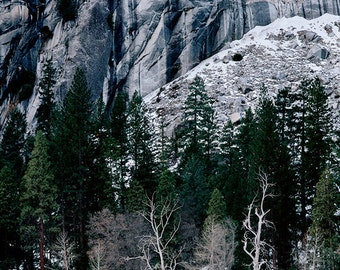 Yosemite Cliffs matted fine art archival print